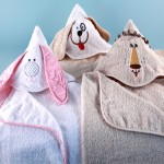 Animal Pals Hooded Towels-Personalized