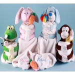 Baby Blanket & Plush Personalized Baby Gift Sets