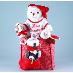 Baby's First Christmas Tote Baby Gift