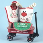 Baby's Frist Christmas Welcome Wagon Baby Gift
