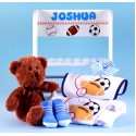 Deluxe Step Stool Personalized Baby Gift-boy