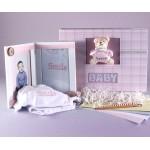 Keepsake Photo Album & Picture Frame Baby Girl Gift Set