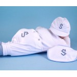 Monogrammed 3-Piece Outfit Baby Boy Gift
