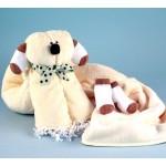 Puppy Baby Blanket Newborn Baby Gift