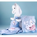 Puppy Layette Baby Gift in Designer Gift Box