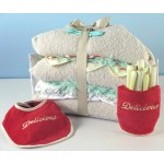 Triplets Triple Decker Layette Baby Gift