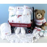 Triplets Welcome Wagon Baby Gift