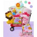 Jungle Jamboree Baby Girl Wagon