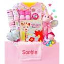 Little Safari Girl Baby Gift Basket