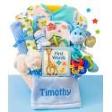 Little Safari Baby Boy Gift Basket