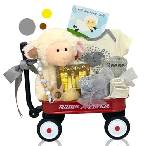 Welcome Little Lamb Wagon