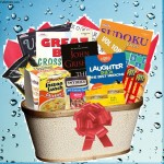 Books and Puzzle Books Gift Basket for Men and Women