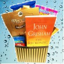 Curl Up and Read Gift for Readers with Paperback Book and Snacks