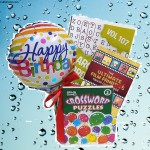 Birthday Wishes Gift Box with Paperback Book