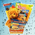 Kids Birthday Box with Fun Activities for Boy and Girls Ages 3 to 10