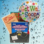 Get Well Wishes with Paperback Book