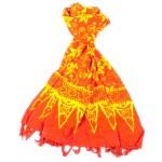 Handmade Sarong Orange - Designs will Vary - Global Groove (W)