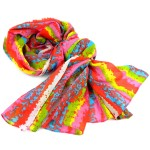 Brighten Up Your Day Cotton Scarf - Asha Handicrafts