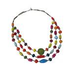 3 Strand Mixed Necklace - Imani Workshop (J)