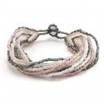 12 Strand Bracelet - Pinks - Lucias Imports (J)