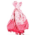 Handmade Sarong Pastel Pink -Designs will Vary - Global Groove (W)