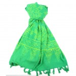 Handmade Sarong Green - Designs will Vary - Global Groove (W)