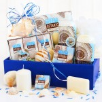 Spa Escape: Ocean Pur Botanic Shea Butter Gift Basket