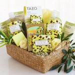 Spa Retreat: Natural Cucumber & Olive Oil Spa Gift Basket