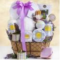 Spa Getaway: Lavender Chamomile Spa Gift Basket
