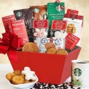 Christmas Morning: Starbucks Coffee Gift Basket