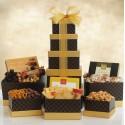 Signature Snacks: Gourmet Gift Tower