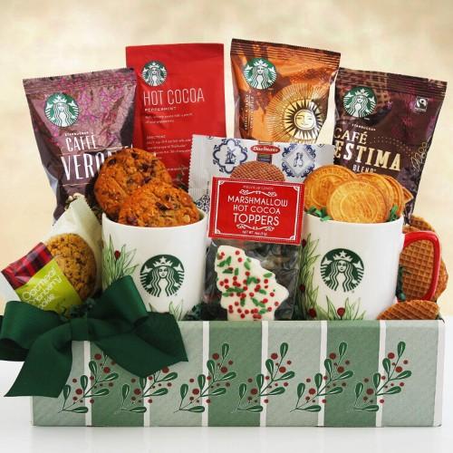 Holly Jolly: Starbucks Gift Box