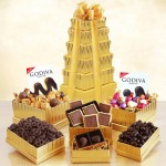 Golden Godiva: Premium Chocolate Gift Tower