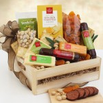 Classic Selections: Meat & Cheese Gift Crate