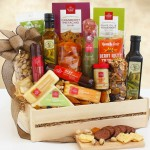 Ultimate Meat & Cheese: Wooden Gift Crate