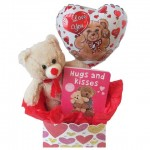 Hugs and Kisses Valentine's Day Baby Gift