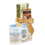 Footprints In The Sand Mug and Tea Gift Set