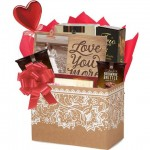 Love You More Romantic Gift Basket