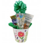 Make Today Amazing Gift Basket with Paperback Book