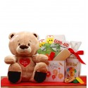 Get Well Soon Teddy Bear Gift Set