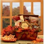 A Gourmet Fall Harvest Fall Gift Basket