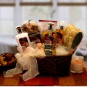 Caramel & Cr'me Bliss Spa Gift Basket