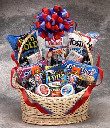 Coke Works Snack Gift Basket - Small