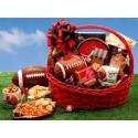 Football Fanatic Sports Gift Basket - Large