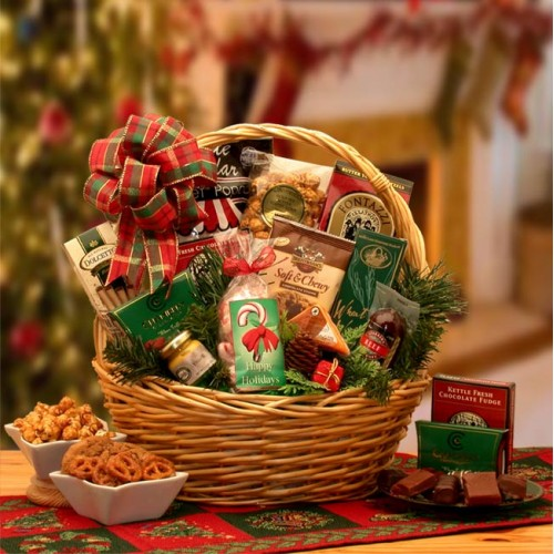 Holiday Celebrations Holiday Gift Basket - Small