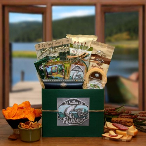 I'd rather Be Fishing Gift Box