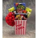 Popcorn Pack Snack Gift Basket - Large