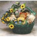 Sunflower Treats Gift Basket - Medium