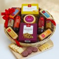 The Favorite Meat and Cheese Gift Basket