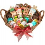 12 LARGE CHRISTMAS EDITION GOURMET GIFT BASKET